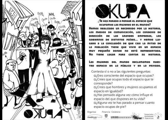 Acción de calle en Sopela